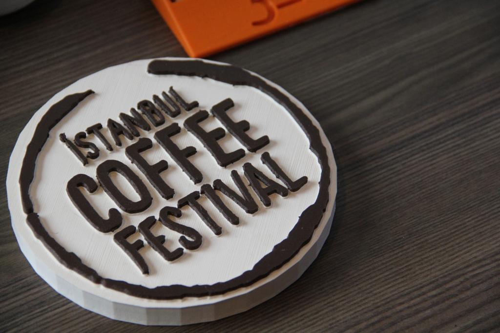 Istanbul Coffee Festival - 3D printer modeli