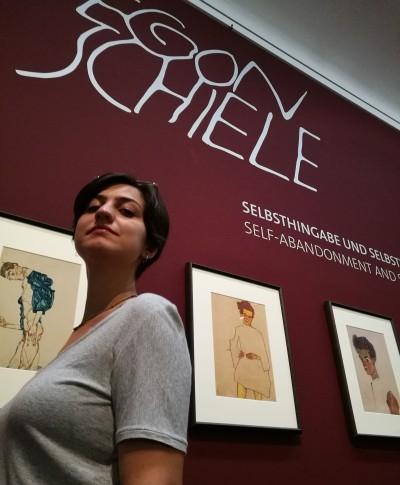 Leopold'da Schiele ile birlikte