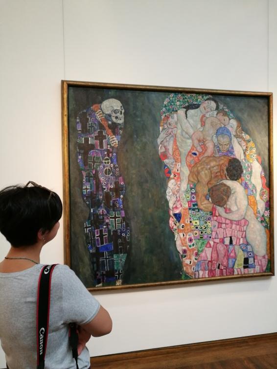 Çok sevdiğim Klimt eseri 'Death and Life'