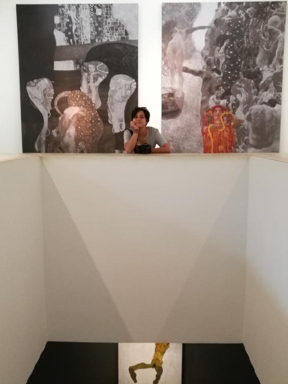 Leopold Müzesi'nde Klimt'le hasret giderirken